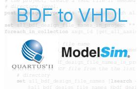 BDFtoVHDL